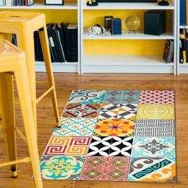 Odolný vinylový koberec Ambiance Bright Tile,60x100cm