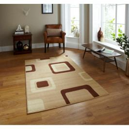Béžový koberec Think Rugs Diamond,60x115cm