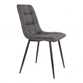 Sada 2 tmavě šedých jídelních židlí House Nordic Middelfart