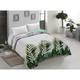 Oboustranný přehoz přes postel z mikrovlákna AmeliaHome Makia, 200 x 220 cm