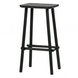 Černá barová stolička vtwonen Butt