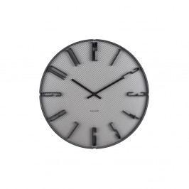 Šedé nástěnné hodiny Karlsson Sentient, ⌀40 cm