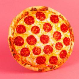 Polštář Just 4 Kids Fast Food Pizza, ⌀ 37 cm