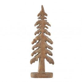 Hnědá dekorativní soška KJ Collection Tree Turo, 24 cm