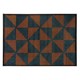 Oranžovo-černý koberec Cosmopolitan design Benelux, 200 x 290 cm