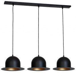 Černé závěsné svítidlo Glimte Charlie Tres
