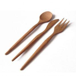 Bambusový příbor Bambum, 18 ks