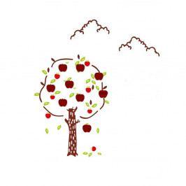 Nástěnná samolepka Mauro Ferretti Apples, 120 x 125 cm