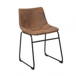 Hnědá židle Mauro Ferretti Metropolitan