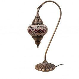 Skleněná ručně vyrobená lampa Fishing Xyzal, ⌀13 cm