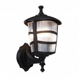 Černé venkovní nástěnné svítidlo Luxury