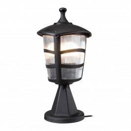 Černé venkovní svítidlo Luxury