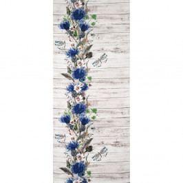 Vysoce odolný koberec Webtappeti Fiori, 58x115cm