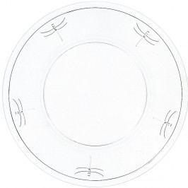 Skleněný talíř La Rochère Libellules, ⌀ 32 cm