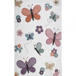 Dětský koberec Eco Rugs Butterfly, 160x230cm