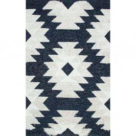 Bavlněný koberec Eco Rugs Navy Indian, 120x180cm