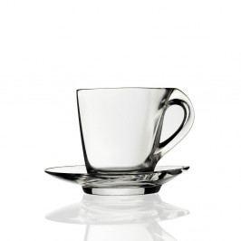 Sada 2 skleněných hrnků na kávu RCR Cristalleria Italiana, 260 ml