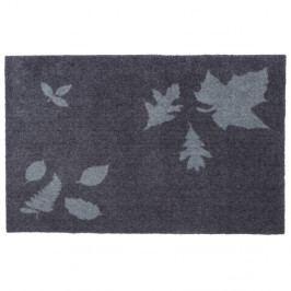 Modrošedá rohožka Tica copenhagen Mega Leafes, 60x90cm