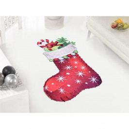 Koberec Vitaus Red Sock, 60 x 100 cm