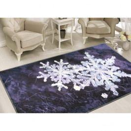 Koberec Vitaus Big Snowflakes, 50 x 80 cm
