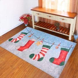 Koberec Vitaus Christmas Socks, 50 x 80 cm