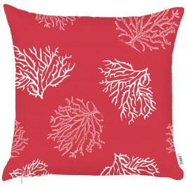 Červený povlak na polštář Apolena Hot Coral, 43x43cm