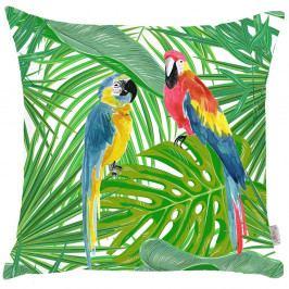 Povlak na polštář Apolena Jungle Parrot, 43x43cm