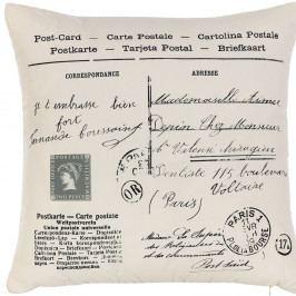 Povlak na polštář Apolena Postcard, 43 x 43 cm
