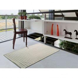 Krémový koberec s příměsí bavlny Universal Dune, 100 x 150 cm
