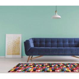 Vysoce odolný koberec Webtappeti Batuffoli, 58 x 115cm