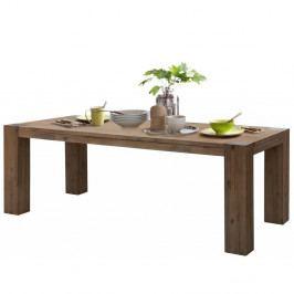 Jídelní stůl z akáciového dřeva Støraa Mabel, 90x160cm