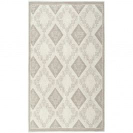 Krémový bavlněný koberec Floorist Chapeau, 120x180cm