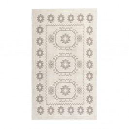 Krémový bavlněný koberec Floorist Emily, 120x180cm
