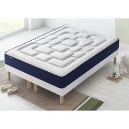 Dvoulůžková postel s matrací Bobochic Paris Velours,100x200cm +100x200cm