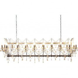Závěsné svítidlo ve zlaté barvě Kare Design Deluxe