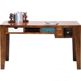 Pracovní stůl z mangového dřeva Kare Design Babalou
