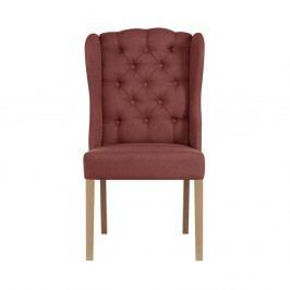 Cihlově červená židle Jalouse Maison Hailey