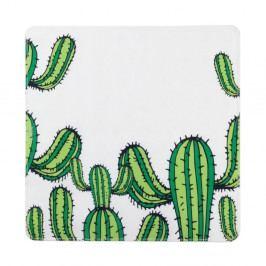 Protiskluzová koupelnová podložka Wenko Cactus, 54x54cm