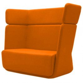Oranžové křeslo Softline Basket Valencia Orange