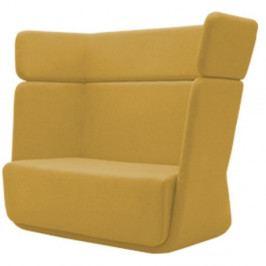 Žluté křeslo Softline Basket Vision Yellow