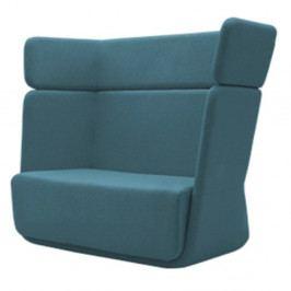 Tyrkysové křeslo Softline Basket Vision Turquoise