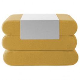Žlutý rozkládací puf Softline Bingo Vision Yellow