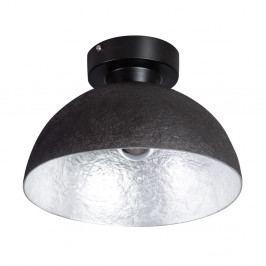 Stropní svítidlo v černé a stříbrné barvě ETH Mezzo Tondo