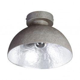 Stropní svítidlo v šedé a stříbrné barvě ETH Mezzo Tondo
