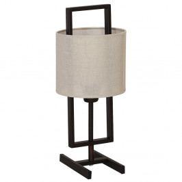 Hnědá stolní lampa Glimte Sprite Capuccino