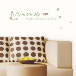 Nástěnná samolepka Ambiance Fly In The Sky