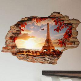 Samolepka Ambiance Landscape Eiffel Tower, 60 x 90 cm