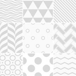 Sada 9 dekorativních samolepek na stěnu Ambiance Finnish, 20 x 20 cm