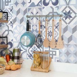 Sada 24 dekorativních samolepek na stěnu Ambiance Spa, 15 x 15 cm