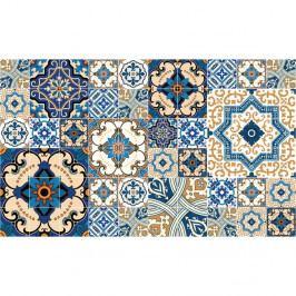 Sada 60 dekorativních samolepek na stěnu Ambiance Toundra, 20 x 20 cm